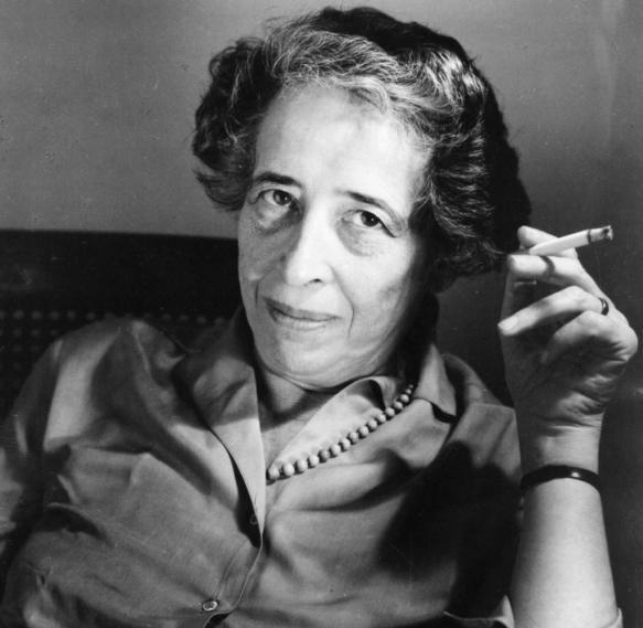 Hannah-Arendt-1906-1975-German-American-political-scientist-c1963-Artist-Unknow