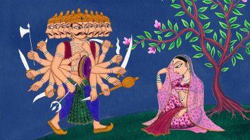 Ravana e Sita