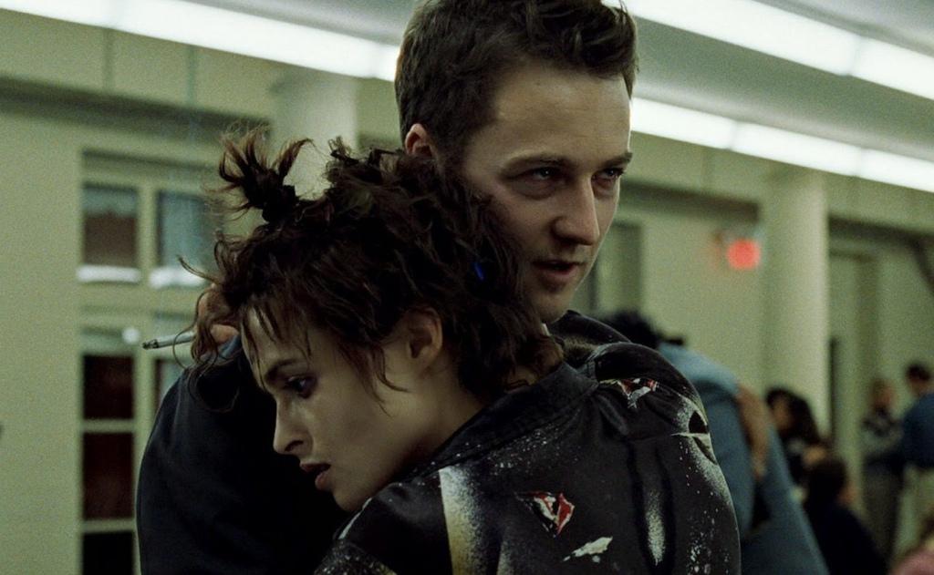 Edward Norton e Helena Bonham Carter ( Fight Club) | re-movies