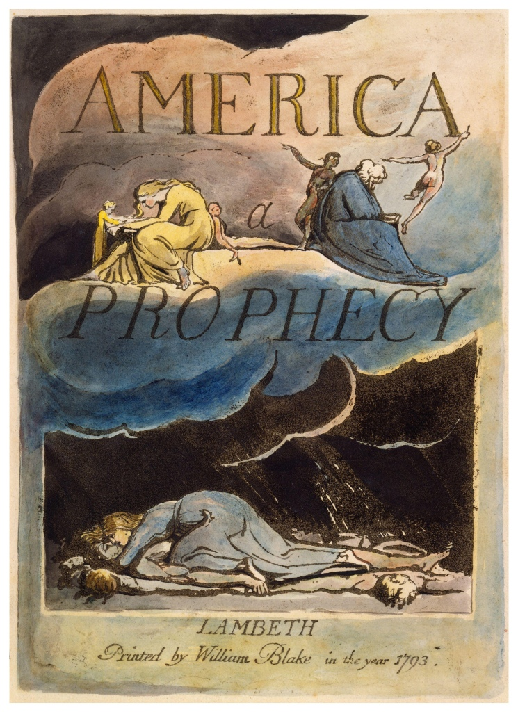 William Blake's America: a prophecy  |  re-movies