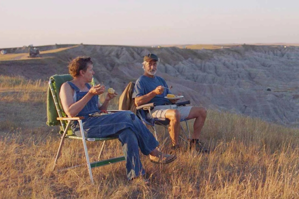 Fern & Dave Nomadland  | re-movies